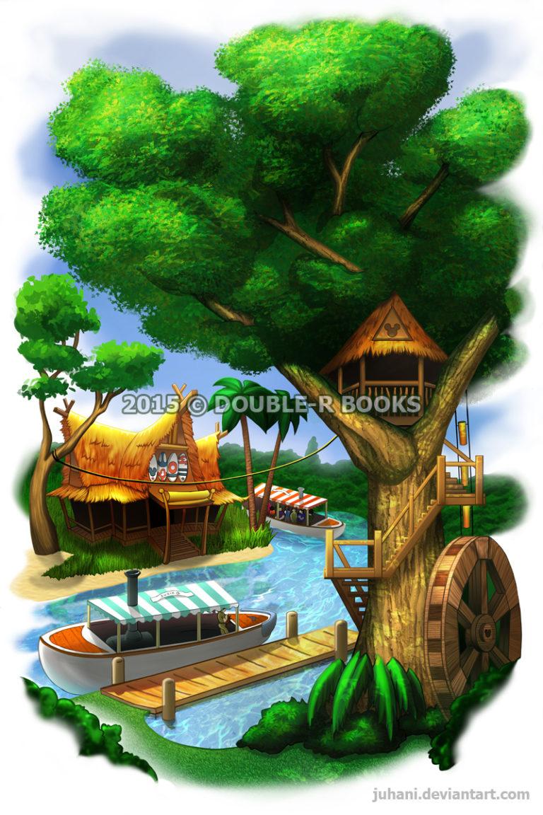 Hidden Mickey Treehouse