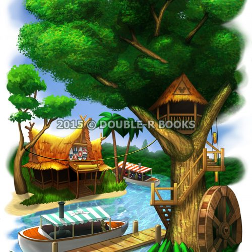 HiddenMickeyTreehouse