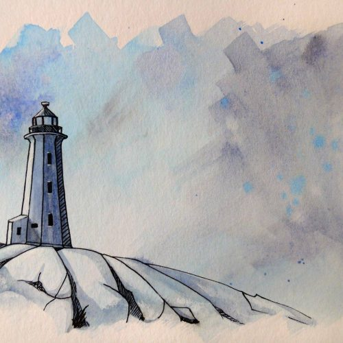 LighthouseWatercolour